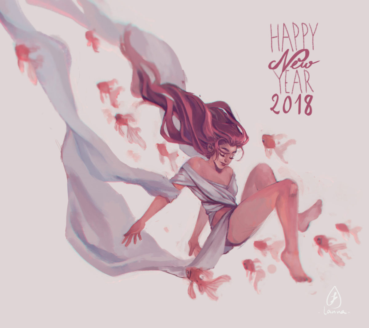 new year illustration
