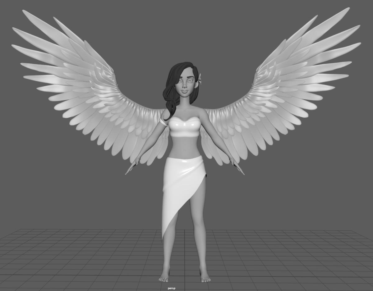 eva 3d modelling
