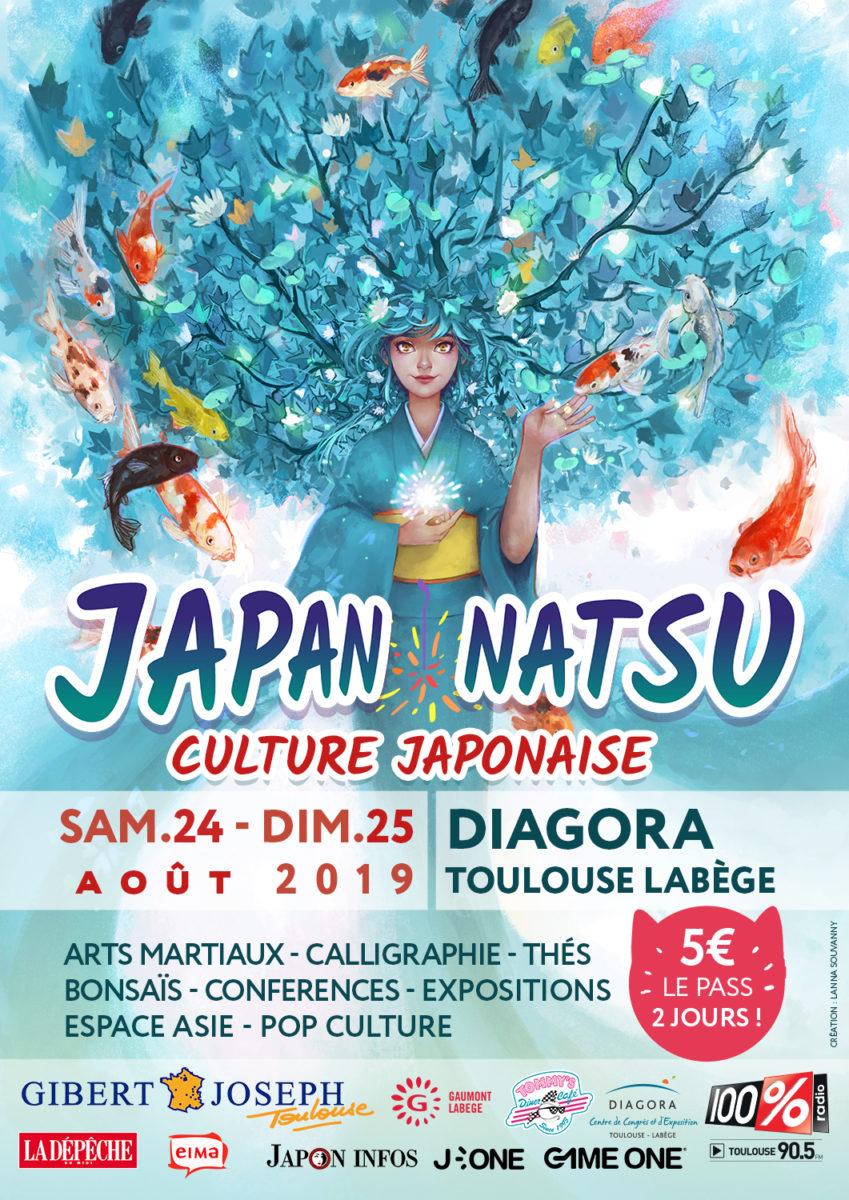 Japan Natsu Poster
