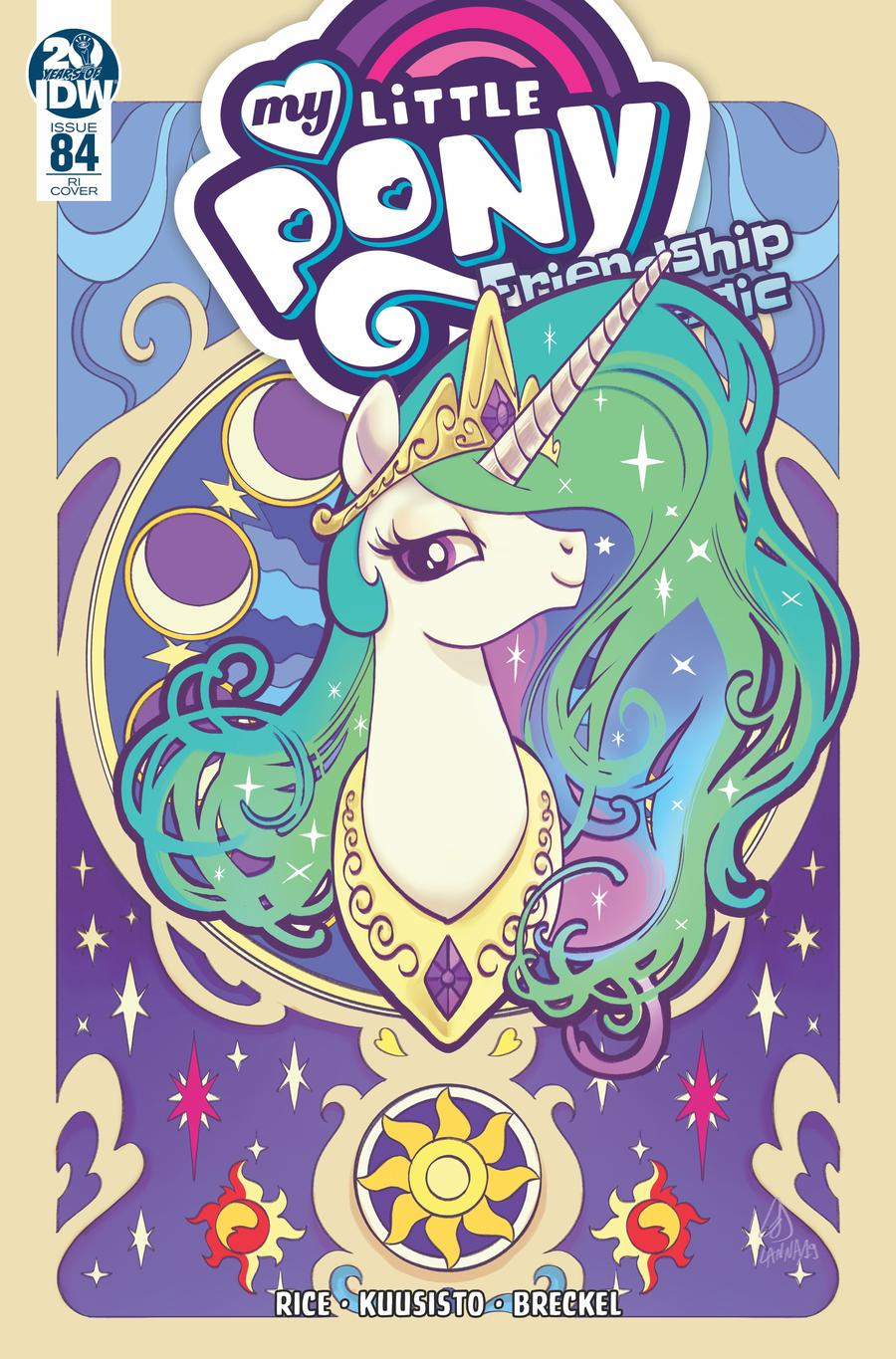 Cover art of MLPFIM 84